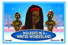 The Walking Dead does Christmas