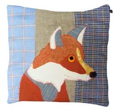 A handcrafted look - Carola van Dyke Fox Cushion from Cotswold Trading, £75.00, my mom loves anything FOX
