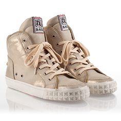 Ash Shake Womens Sneaker Platine Skin Leather  340139 (293)