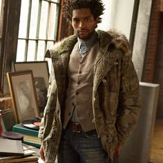 Denim and Supply Ralph Lauren fall outerwear: layer up with new vintage-inspired styles