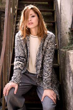 Esqueletor cardigan, Mohair & merino wool, #Knitwear #cardigan