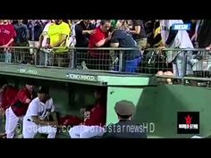 Red Sox Fan Drilled In The Head By Daniel Nava's 2-Run Homer 9/4/13