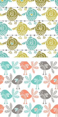 Wendy Kendall is a surface pattern designer based out of UK. She graduated from the University of Derby, specializing in print...