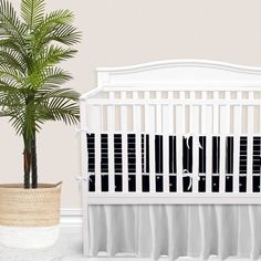 For our modern + minimal momma's out there. This Black modern nursery look is complete with hand drawn stripes + coordinating Swiss cross pattern. We love how this look is modern and simple - leaving all the room for the baby to shine. Available in (9) color ways. Baby Boy Bedding Sets, Custom Baby Bedding, Baby Boy Cribs, Girl Cribs, Baby Nursery Bedding, Nursery Decor, Boho Nursery, Girl Nursery, Thing 1