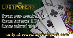 Main taruhan di poker qiuqiu online indonesia terbaik tentu sangat menyenangkan bagi anda para poker mania kini luxypoker99 menyediakan taruhan poker.