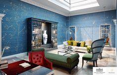 Moscow | Luxury Interior Design | Reception Room #Interiordesign #Classic