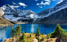 Lake+O'Hara,+Yoho+National+Park,+British+Columbia+-+Lakes+Wallpaper+ID+2304614+-+Desktop+Nexus+Nature