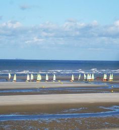 Le Touquet beachscene - sandyachting.