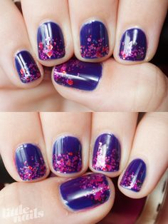 OPI Dating A Royal, OPI Rainbow Connection, OPI Houston We Have A Purple