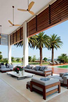 Quinta da Baroneza - SP (João Armentano) #beachhousedecorlivingroom