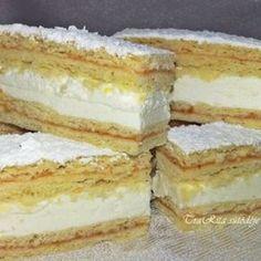 Pfirsich-Fantasiewürfel im Eta-Stil - Tészta - Desserts Oreo Cupcakes, Hungarian Recipes, Sweet And Salty, Vanilla Cake, Nutella, Cake Recipes, Food And Drink, Thanksgiving, Cooking Recipes
