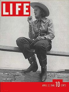 In this April 22, 1940 issue, Life magazine featured cowgirl fashions, including designs by Marge Riley, a cowgirl herself. Source: Eleanor and Richard Eaton collection