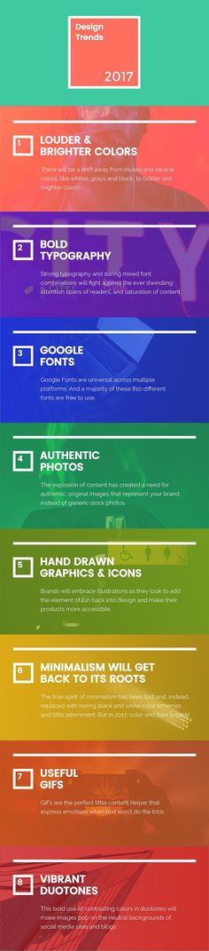 8 Graphic Design Trends Your Competitors Will Use to Stand Out in 2017 [Infographic]