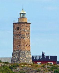 Grönskärs Lighthouse, Sandhamn,  Sweden,