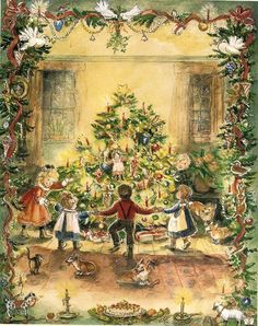 Christmas has always been my family's favourite celebration. It is a time of magic. Is it not? Tasha Tudor Tasha Tudor Chr...