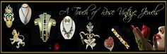 Make an OFFER of 20% all items in my Ruby Lane Shop.  Sale ends Sunday 5/17 - 9pmEST Vintage Designer Signed, Victorian, Art Deco, Art Nouveau, Antique Collectibles! Save 20% now - just make an off of 20% off! http://www.rubylane.com/shop/atouchofrosevintagejewels