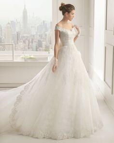 Salma vestido de novia Rosa Clara