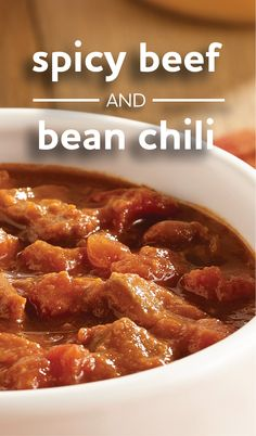 Spicy Beef and Bean Chili | A slow cooker recipe for a flavor-packed ...