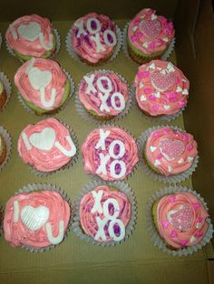 Valentine Cupcakes made by me, SweetEms Cakery