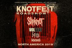 """Slipknot """"Knotfest Roadshow"""" Tour will be a 29 city roadshow that will start at the Shoreline Amphitheater in Mountain View this summer Music Theater, Vip Tickets, Concert Tickets, Ticket Stubs, Cynthia Woods Mitchell Pavilion, Sell Tickets Online"""