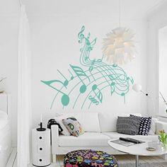 Bonito dibujo de notas musicales, especial para decorar.