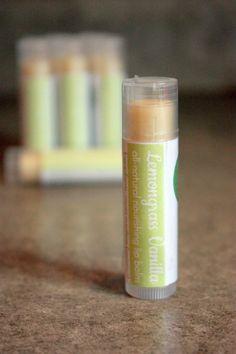 Hey, I found this really awesome Etsy listing at https://www.etsy.com/listing/289513153/lemongrass-vanilla-lip-balm-1-tube
