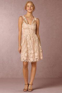 2140bb38cddd Anthropologie x BHLDN Ersalina Wedding Guest Dress Short Lace Bridesmaid  Dresses, Formal Dresses, Lace