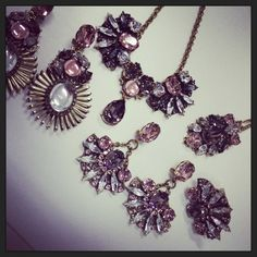 #AntonHeunis crystal x vintage rose themed pieces!
