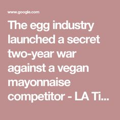 The egg industry lau