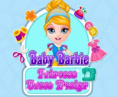 Baby Barbie Princess Dress Design, http://www.mybabybarbiegames.com/game/baby-barbie-princess-dress-design. The news of a fancy dress school ball coming soon makes baby Barbie and her classmates very happy