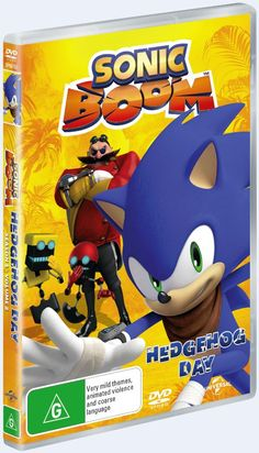 Sonic, Tails, Amy, Knuckles and new friend Sticks must come together as a team to explore a new world full of comedy and adventure complete with malfunctioning giant tech-monsters, bizarre inventions, evil interns, and ridiculous conversations at high speeds. CLICK HERE FOR A CHANCE TO WIN &nbsp