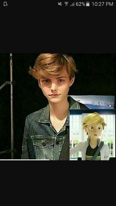 Adrien en persona real ❤