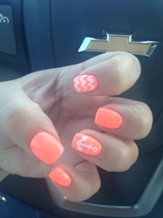 Anchor and Chevron Nails Discover and share your fashion ideas on misspool.com