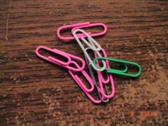 Odd looking paper clips...