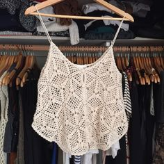 Embroidered 70's inspired spaghetti strap tank. Like new. Perfect for these hot summer days! Forever 21 Tops Tank Tops