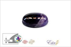 Hey, I found this really awesome Etsy listing at https://www.etsy.com/listing/568558521/amethyst-oval-grooved-cabochon-for