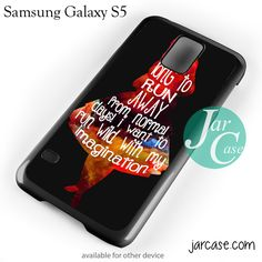 Alice's Quotes Phone case for samsung galaxy S3/S4/S5