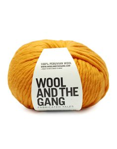 Crazy Sexy Wool - So Yellow