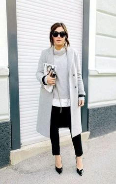 Casual Winter Outfits Ideas For Work 2018 43