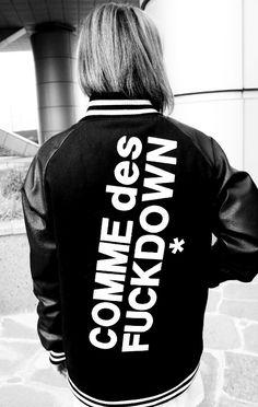 Dope jacket, Urban/street fashion, black & white