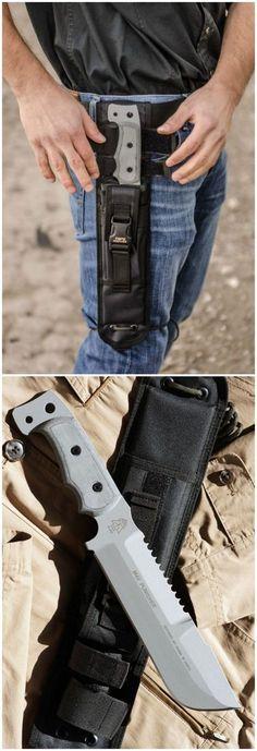 Tops Knives M4X Punisher Fixed Blade Knife @thistookmymoney