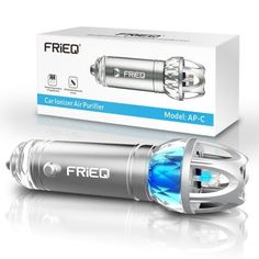 FRiEQ Car Air Purifier Car Air Freshener and Ionic Air Purifier Remove Dust Pollen Smoke and Bad Odors Available for Your Auto or RV ** Check this awesome product by going to the link at the image. (This is an affiliate link) Best Car Air Freshener, Room Freshener, Gadgets Techniques, Ionic Air Purifier, Air Purifier Reviews, Smoke Smell, Car Interior Accessories, Accessories Online, Scented Sachets