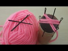 Amazing Flower Crafts Ideas with Woolen yarn - Hand Embroidery Design - Sewing Hack - Easy Trick