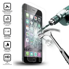 2.6D 9 H 0.26 미리메터 프리미엄 강화 유리 화면 보호기 아이폰 6 6 초 플러스 5 5 초 SE 6 플러스 단단하게 보호 필름 iphone6
