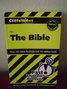 cliffsnotes on the old testament patterson charles h