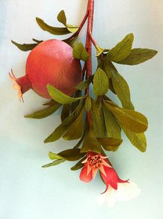 Surprise Ball Pomegranates by all things paper, via Flickr