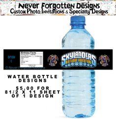 Skylanders Water Bottle