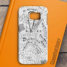 Panic At The Disco Flowers Samsung Galaxy S6 Edge Plus Case | casefantasy