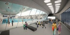 Olympics 2012 London - Aquatic Centre