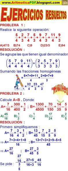 10 Ideas De Matemáticas Fraccionarios Numeros Fraccionarios Matematicas